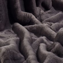 Russian Blue Medium Pile Faux Fur 150cm Wide 0.5m
